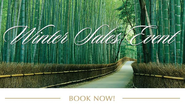 Winter Sales Event Book Now