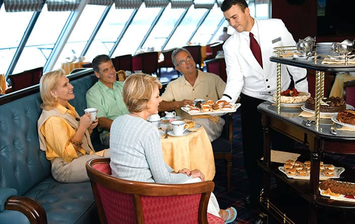 Afternoon Tea on Oceania Cruises