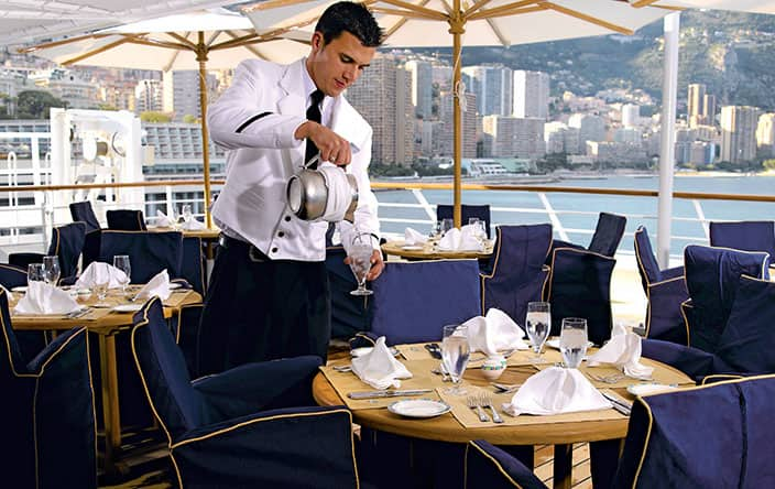 Terrace Cafe on Oceania Cruises