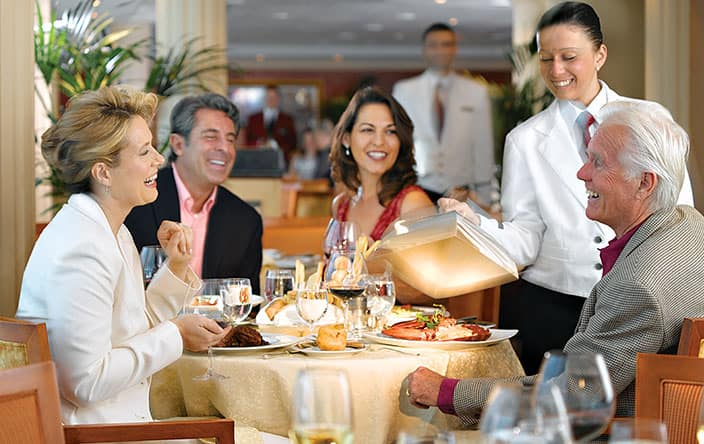 Toscana Guests on Oceania Cruises