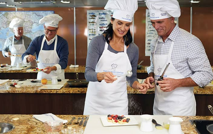 Culinary Center on Oceania Cruises