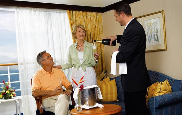 Individual Room Service on Oceania Cruises
