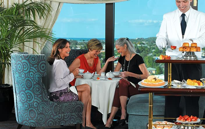 Oceania Club Membership Privileges High Tea