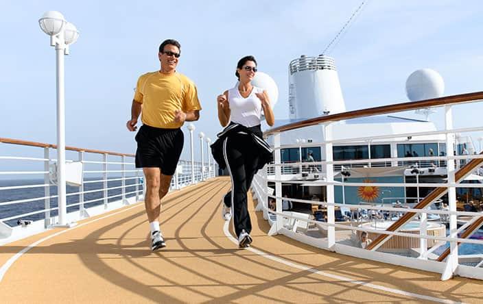 Wellness Fitness Track on Oceania Cruises