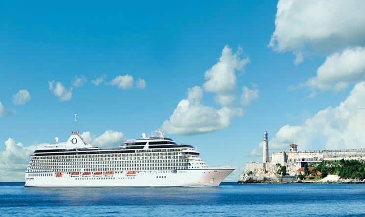 OCEANIA CRUISES ANNOUNCES INAUGURAL VOYAGES TO CUBA
