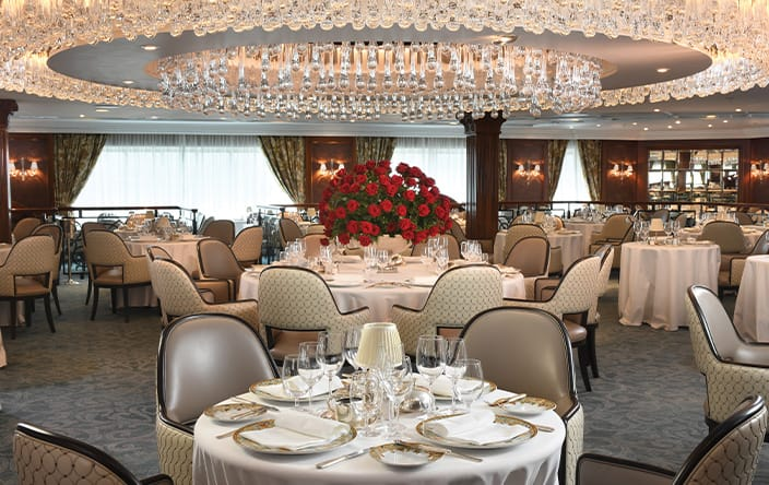 Oceania Cruises Regatta Cruise Ship Dining Restaurants