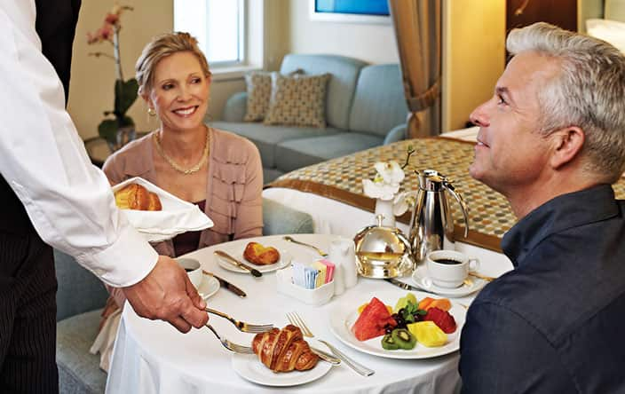 Room Service on Oceania Cruises