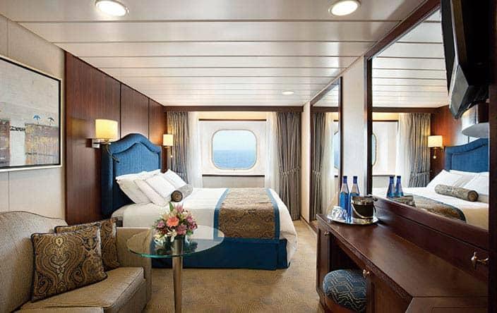 Deluxe Ocean View Stateroom デラックス オーシャンビュー ステートルーム