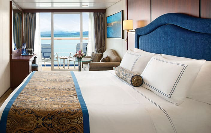 Veranda Stateroom on Oceania Cruises
