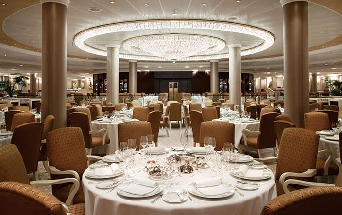 Grand Dining Room on Oceania Cruises