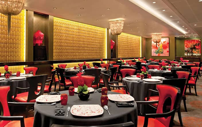 Red Ginger on Oceania Cruises