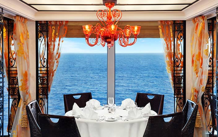 Terrace Café on Oceania Cruises