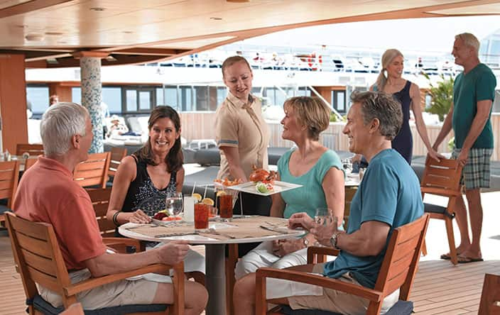 Waves Grill on Oceania Cruises