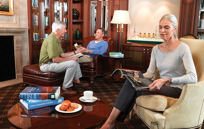 Library on Oceania Cruises