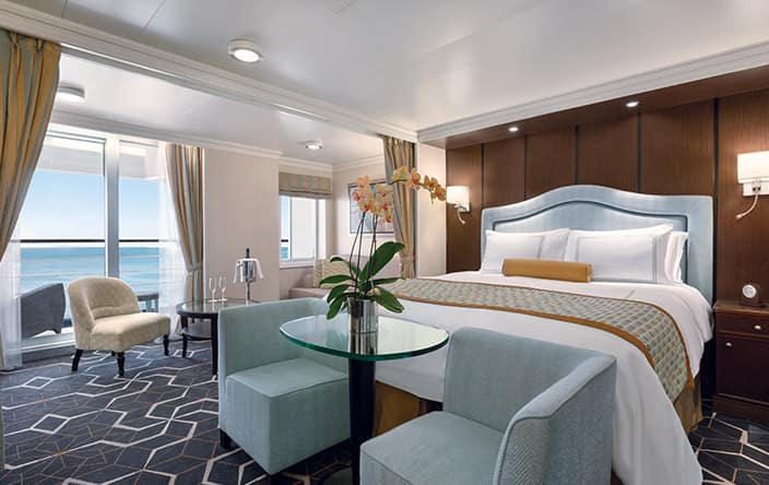 Penthouse Suite on Oceania Cruises