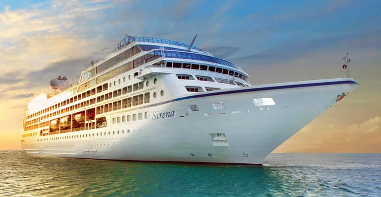 Oceania Cruises Sirena Cruise Ship Sirena Deck Plans Oceania - Cruise ship images
