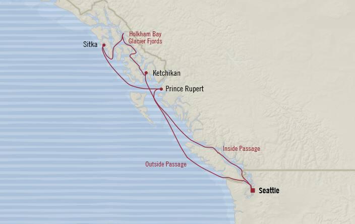 Oceania Cruises 7 Days From Seattle Washington United States To Seattle Washington United States