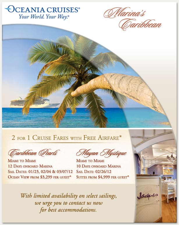 Marina's Caribbean | Please contact us for details
