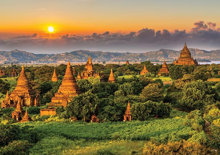 Ancient Vtemples of Bagan