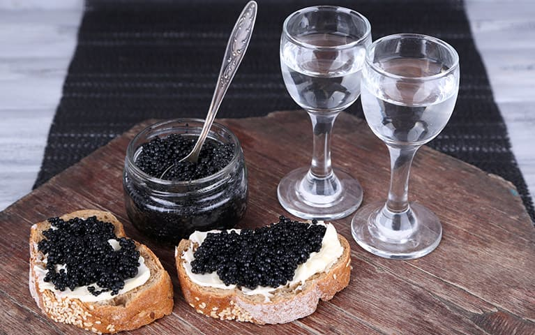 Caviar Russia bar