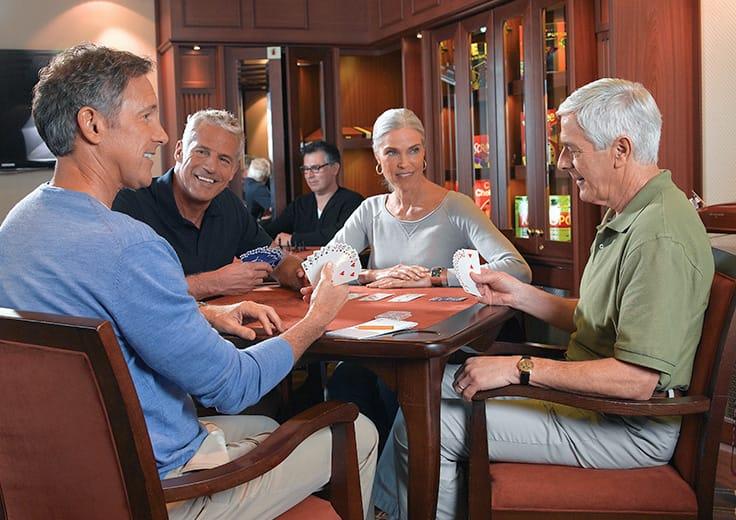 Oceania Cruises Card Room