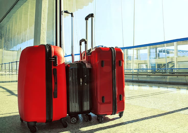 Bags in port