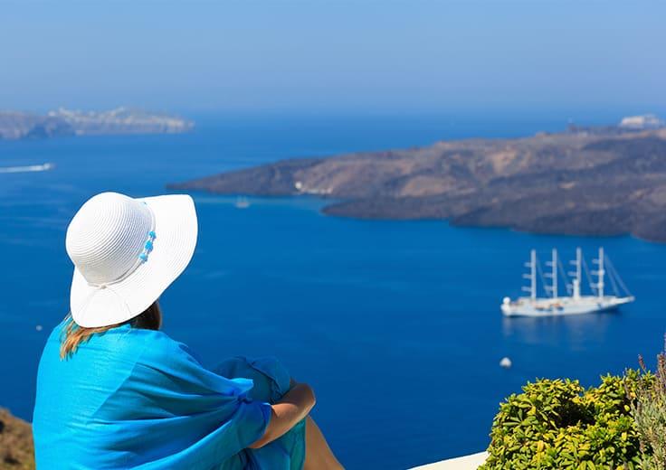 Single Lady in Greece